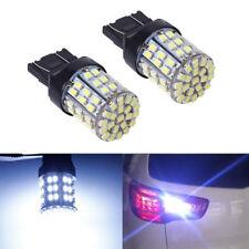 2x T20 7440 7443 64 SMD White 6000K Reverse Brake Tail LED Bulb Light Lamp 12V~