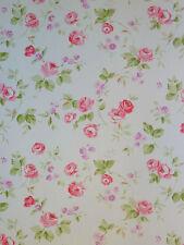 """""""Aromas"""" Vlies-Tapete 623-1 Floral Blumen rosa-pink Landhaus-Stil (6.25 Euro/m²)"""