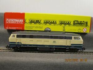 Fleischmann AC H0 1233 Diesellok BR 218 420-8 der DB Digital Sound ESU in OVP