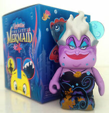 "DISNEY VINYLMATION 3"" THE LITTLE MERMAID URSULA SEA WITCH VILLAINS TOY FIGURE"