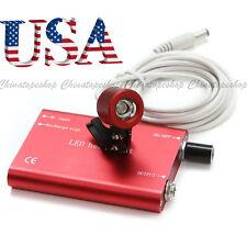 For Dental Loupe Binocular Portable Dental LED Head Light/lamp Red *USA Sell