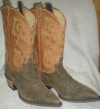 Vintage Justin women's Western Boots L6301 Brown Size 10B