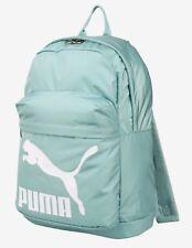 PUMA Originals Backpack Bags Sports Green Unisex Casual School GYM Bag 07479908