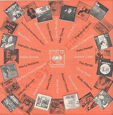 "Vintage INNER SLEEVE or SLEEVES 12"" CBS ORANGE ADVERTISING Blossom Special x 1"