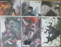 BATMAN 95 96 97 98 99 100 JOKER WAR 1-6 NM+ MATTINA VARIANT DC COMICS