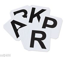 Shires Self - Adhesive Dressage Letters ( 18A ) - Set of 12