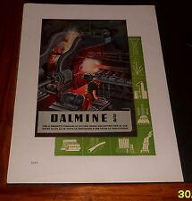 Advertising Italian Pubblicità: DALMINE TUBI ACCIAIO (ILL. FRANCISCONE) *1942*
