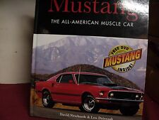 Mustang The All American Muscle Car w/dvd, used 192 pages hard cover book