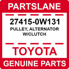 27415-0W131 Toyota OEM Genuine PULLEY, ALTERNATOR W/CLUTCH