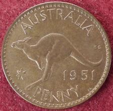 Australia Penny 1951 PL (E2505)
