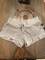 Juniors Size Medium Hard Tail Short. Grey With Stars On Side