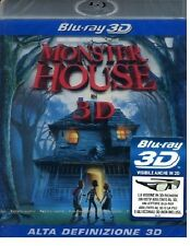 Blu Ray  MONSTER HOUSE 3D   ......NUOVO