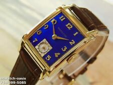 1948 Vintage HAMILTON PERRY, Stunning Blue Dial, Serviced with warranty