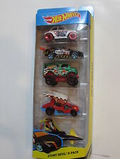 HOT WHEELS 2015 STUNT DEVIL - BAJA BEETLE POISON ARROW DIRTY OUTLAW 5 CAR PACK