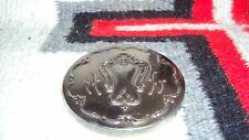Vintage Gorham Silver Plate Round Pocket Mirror