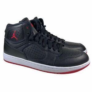Jordan Access Retro Black Red Gym Basketball Shoes AR3762-001 Mens Size 10.5