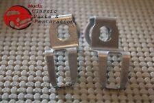 70-78 Chevy Camaro Door Lock Cylinder Metal Latch Brarckets Pawls Rh & Lh Pair (Fits: Chevrolet)