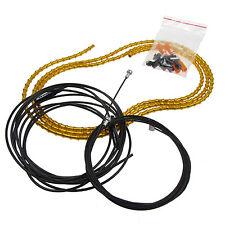 ALLIGATOR i-LINK Ultralight Brake Cable Set -Fits Shimano, Sram: 5mm- GOLD