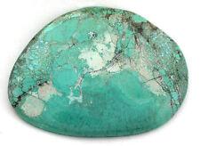 192.90 Carat Spiderweb Blue Turquoise Gem Stone Gemstone Cab Cabochon TA32