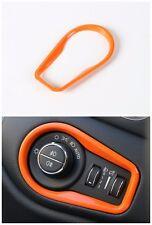 Headlight Switch decorative trim frame Orange for Jeep Renegade 2015 2016 2017