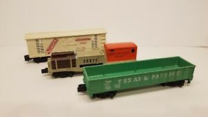 American Flyer Train car Lot of 3 Cars *Mounds *Tie Car *T&P  For parts/repair