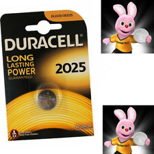 Genuine Duracell DL2025/CR2025 Long Lasting Power Guaranteed 3v Lithium Battery