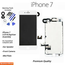 NEW iPhone 7 Retina LCD Digitiser Touch Screen Full Assembly with Parts - WHITE