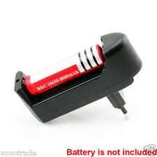 EU Plug Universal Battery Charger For 3.7V 18650 16340 14500 Li-ion rechargeable