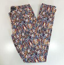 Kardashian Kollection Skinny Jeans Size 6 Geometric Confetti Printed Pants