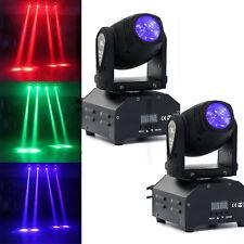2PCS U`King 60W Stage Lighting RGBW LED Moving Head DMX DJ Club Party Show Light