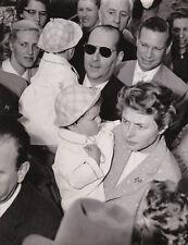 Robert Rossellini Ingrid Bergman et leurs filles Munich Original Vintage 1954