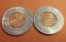 2015 ADJUNTAS COIN DEALER Vale por $5 / Good for $5 in Merchandize Encased Penny