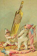 Alexandre Eyquem Bordeaux Wine Tiny Clowns U.S Flag Bottle Olive Oil P55