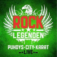 CITY,KARAT PUHDYS - ROCK LEGENDEN LIVE 2 CD NEU