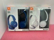 JBL T450 Wired Pure Bass On-Ear Lightweight Foldable Headphones w/ Mic - SEALED