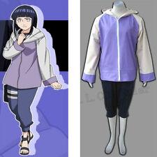 Hot Japanese Anime Naruto Hinata  Full Set Female Clothing Cartoon Character