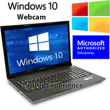 "Ibm Lenovo Laptop Thinkpad 15.6"" Windows 10 Intel Dual Core Dvdrw WiFi Webcam Pc"