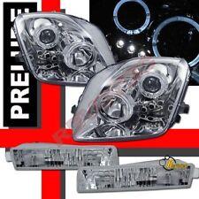 1997-2001 Honda Prelude Dual Halo LED Projector Headlights & Bumper Lights