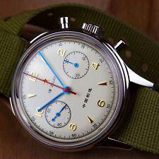 Seagull 1963 Chinesische Luftwaffenuhr Schaltradchronograph Acrylglas