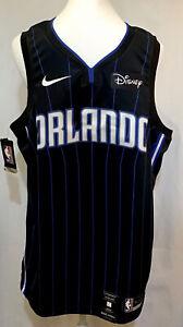 NIKE SWINGMAN Blank Customizable Orlando Magic Jersey Disney Patch  52/XL NEW