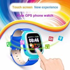 Q90 Kid Children Anti-lost Smart Watch GPS + LBS Tracker SOS Call iOS Android