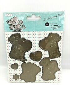 Me to You Tatty Teddy 7 Embossing Dies Carte Blanche New Supports Mental Health