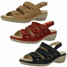 Ladies Easy B Open Toe Sandals Penny