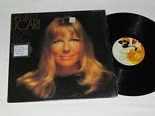 DANIELE LICARI Melodies Pour Une Voix LP Barclay Records Canada French Vinyl VG