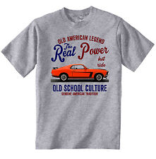 VINTAGE AMERICAN CAR FORD MUSTANG BOSS 302 2 - NEW COTTON T-SHIRT