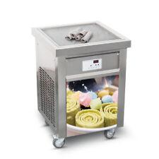 ETL 20''(50cm) Single square pan fried ice cream machine roll ice cream machine