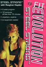 FIT EVOLUTION STEEL STRONG EXERCISE DVD NEW SEALED REAGHAN HAYDEN
