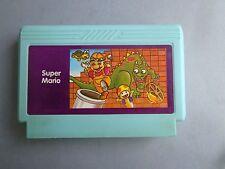 Rare Video Game FAMICOM Famiclone Super Mario Cartridge no NES