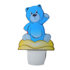 Plug-In LED Teddy Bear Night Light