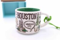 New Starbucks Been There Collection Houston Mug Christmas Ornament Demi 2oz Cup